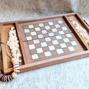 Checkers Tray