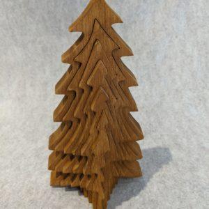 3-D  Wood Tree