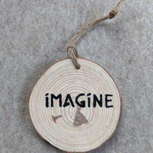 Imagine Ornament
