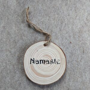 Ohm or Nameste Ornament