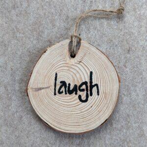 Laugh Ornament