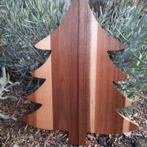 Wood Tree Serving Board