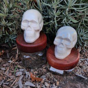 Cool Skull Mason Jar Canister Set