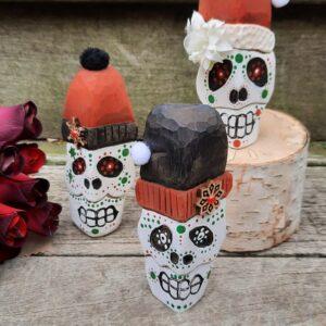 Sweet Santa Sugar Skull Sprites